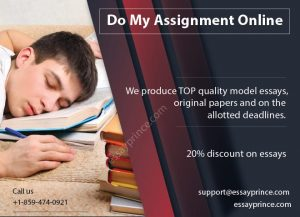 Do my Assignment online